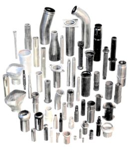 applications machine de formage du tube