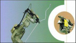 Robot  de cintrage de tubes- Machine à cintrer les tubes CNC